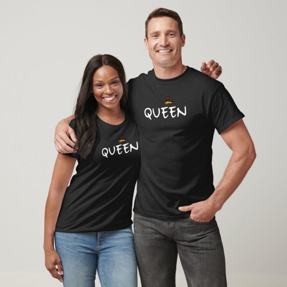 Cute King Queen T-Shirt