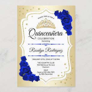 blue 18th birthday invitations zazzle