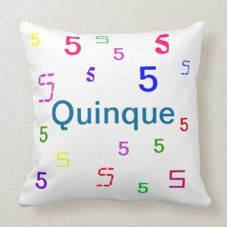 quinque Pillow - Decorative Accent Throw Pillow 3 mojo_throwpillow