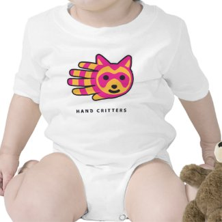 Raccoon baby t-shirt bodysuit