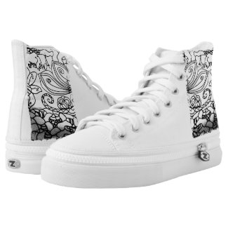 Rachel Doodle Art - Awesome Printed Shoes