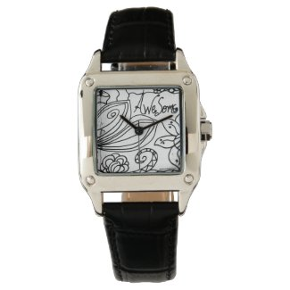Rachel Doodle Art - Awesome Wristwatches
