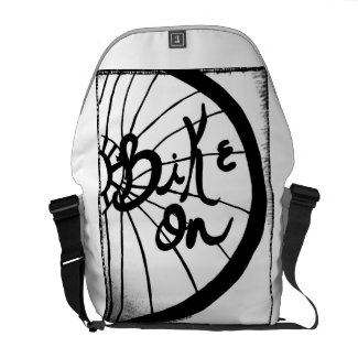 Rachel Doodle Art - Bike On Messenger Bags
