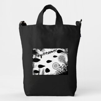 Rachel Doodle Art - Daydreamer Duck Canvas Bag