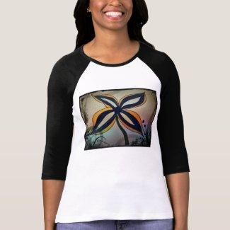 Rachel Doodle Art - Funky Flower Shirts