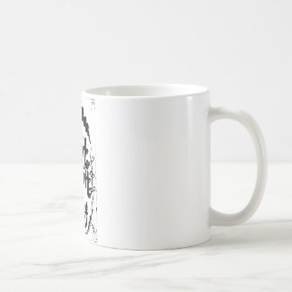 Rachel Doodle Art - I Can't Adult Today Classic White Coffee Mug