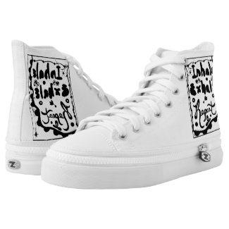 Rachel Doodle Art - Inhale, Exhale, Repeat Printed Shoes
