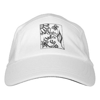 Rachel Doodle Art - Never Give Up Headsweats Hat