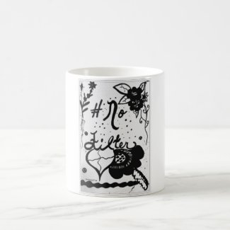 Rachel Doodle Art - No Filter Classic White Coffee Mug