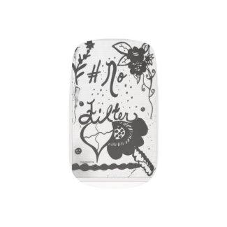 Rachel Doodle Art - No Filter Minx® Nail Art