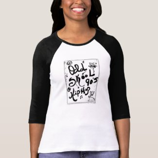 Rachel Doodle Art - Old-Skool 90's Hip-Hop Tee Shirt