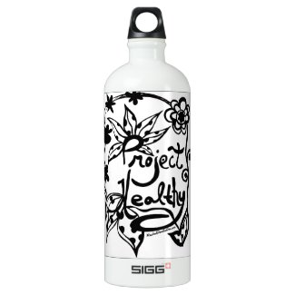 Rachel Doodle Art - Project Healthy SIGG Traveler 1.0L Water Bottle