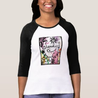 Rachel Doodle Art - Sandy Beaches Tshirt