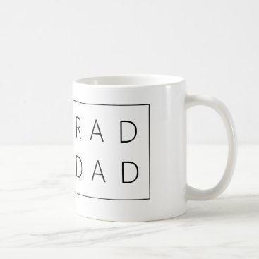Rad Dad White 11 oz Classic White Mug