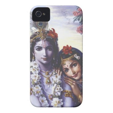 Radha and Krishna iPhone 4 Cover