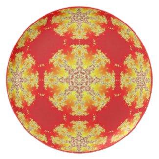 Radiant heart Kaleidoscope Mandala fuji_plate
