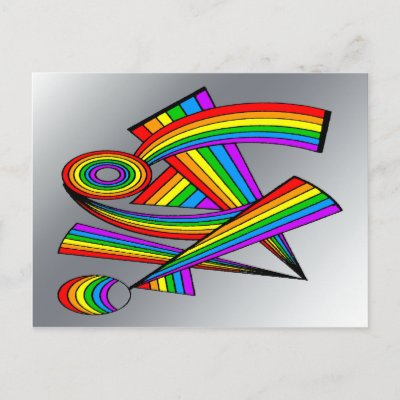 Rainbow # 3 Tattoo Designs Unique one-of-a-kind design Features various