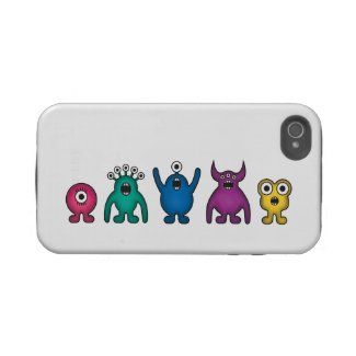 Rainbow Alien Monsters casematecase