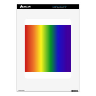 Rainbow Banding Skin For iPad
