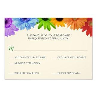Rainbow Wedding Invitation Cards Marriage Invitations Announcements Zazzle