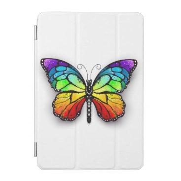 Rainbow butterfly Monarch iPad Mini Cover