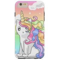 Rainbow Caticorn iPhone 6/6s Case