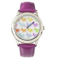 Rainbow Gummy Unicorn Watch