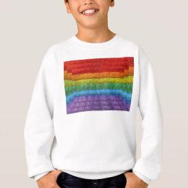 Rainbow Mosaic Gay Pride Flag Sweatshirt