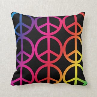 Peace Sign Pillows  Decorative  Throw Pillows  Zazzle