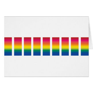 Rainbow Spectrum Blocks Card