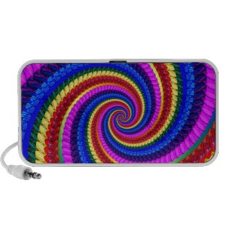 Rainbow Swirl Fractal Pattern doodle