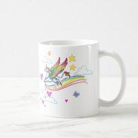 Rainbow Winged Unicorn Mug