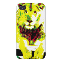 Rasta Lion iphone case iPhone 4/4S Covers
