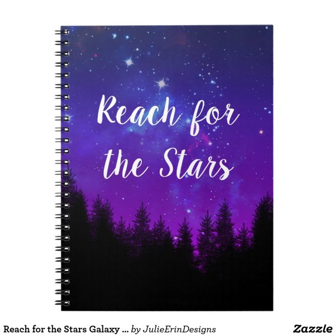 Reach for the Stars Galaxy Forest Notebook