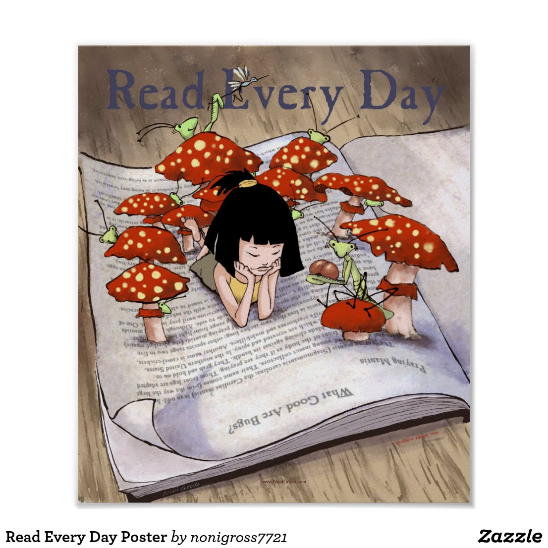 Read Every Day Poster