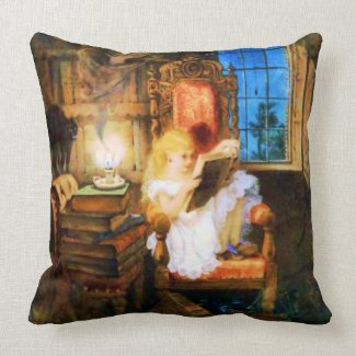 Reading Wonderland American MoJo Pillows