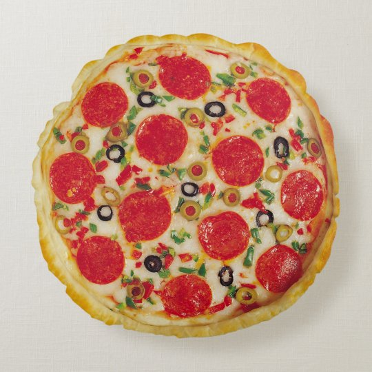 realistic pizza pillow