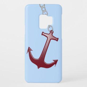 Red Anchor Blue Case-Mate Samsung Galaxy S9 Case