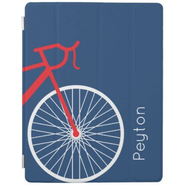 Red and White Bicycle iPad Smart Cover