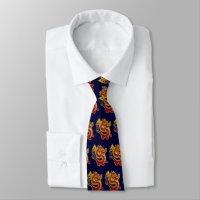 Red Chinese Dragon Tie   Zazzle