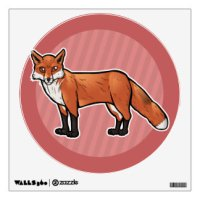 Fox Wall Decals & Wall Stickers | Zazzle