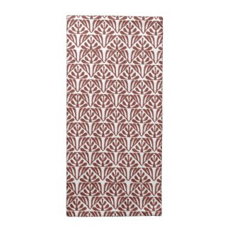 Red Pattern Printed Napkin