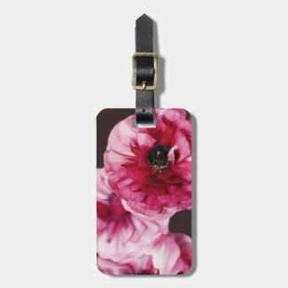 Red Ranunculus Luggage Tags