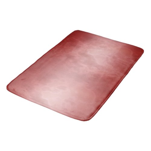Red Rose Marble Bathroom Mat