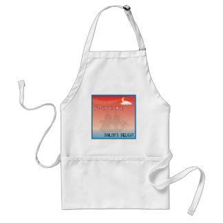 Red Sky At Night Apron