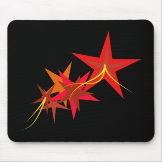 Red Stars Mousepad mousepad