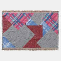 Red White And Blue Throw Blankets | Zazzle