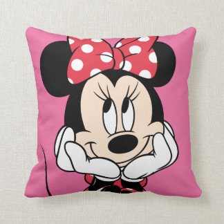 Red & White Minnie 1 Pillow