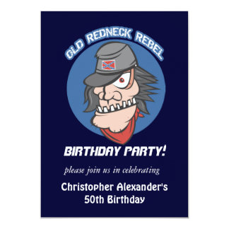 Redneck Birthday Cards Zazzle