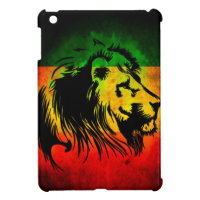 Reggae Rasta Lion Cover For The iPad Mini